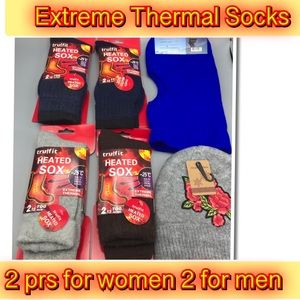 Accessories - Extreme Thermal Socks And hats for her and him